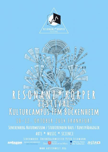 resonazkoerper Festival 2014 Poster